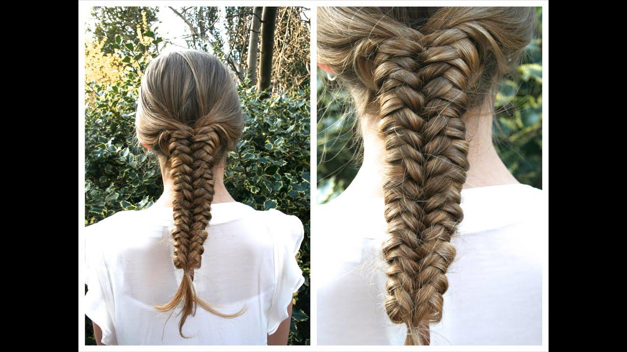 Mermaid Tail Braid Tutorial HairAndNailsInspiration