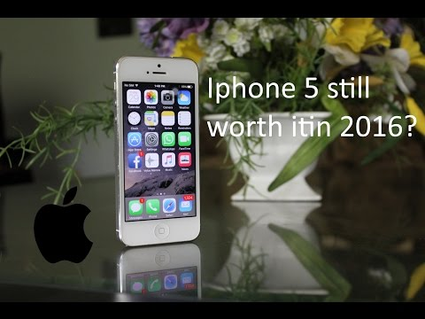 iphone 5 still worth it in 2016? (Old iPhone)