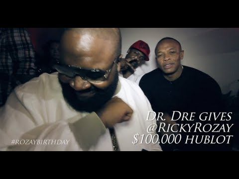 DR. DRE GIVES RICK ROSS $100,000 HUBLOT WATCH FOR HIS BIRTHDAY