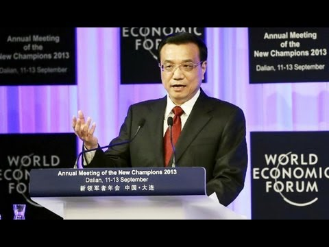 [Full video] Chinese Premier Li Keqiang's speech at 2013 Summer Davos