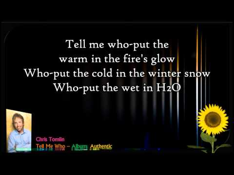 Chris Tomlin - Tell Me Who