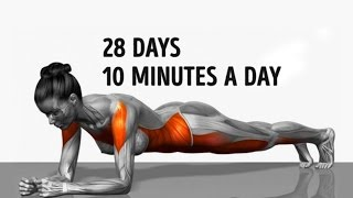 10 Minutes Workout for Perfect Shape and physique in 28 Days!