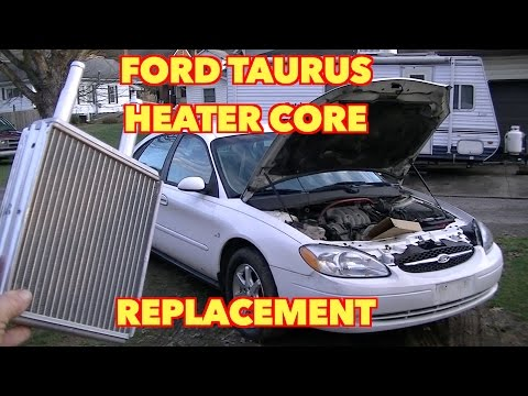 Ford Taurus Heater Core Replacement... Its not that hard to do ;)