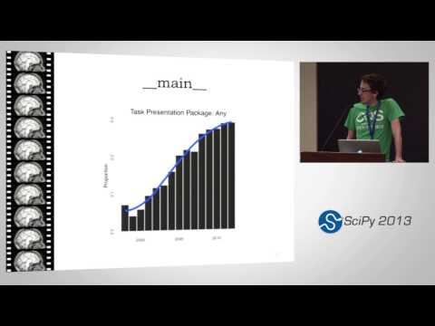 NeuroTrends: Large-scale automated analysis of the neuroimaging literature; SciPy 2013 Presentation