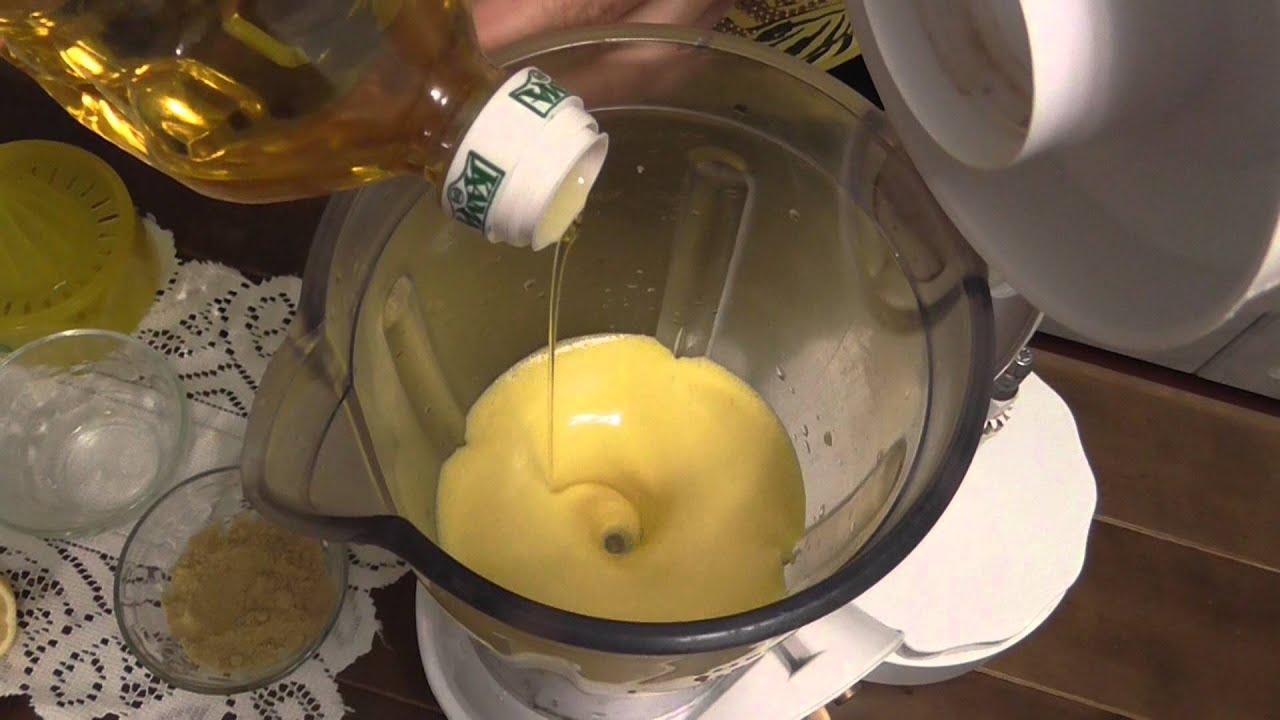 Майонез в домашних условиях блендером с горчицей 78