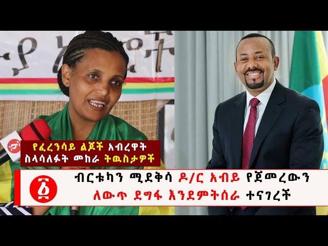 Birtukan Mideksa Says She Support The Change