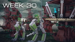 Building Kashyyyk in LEGO - Week 30: Platforms