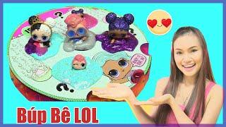 Làm Hồ Bơi Slime Mini Cho 3 Búp Bê LOL Siêu Cute! Chị Bí Đỏ - Đồ Chơi Trẻ Em - đồ chơi Mỹ