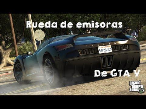 ★| Rueda de emisoras de GTA V con iconos de colores para GTA S.A By ProMods |★