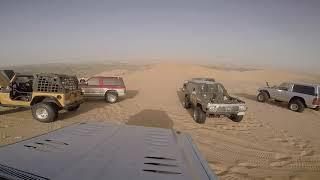 The power of v8 Nissan patrol Ls3 at Mastorah desert KSA