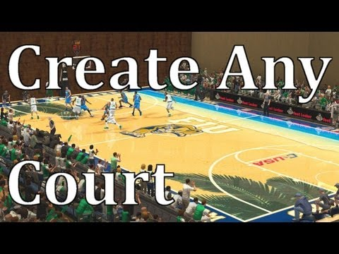 Create Any Court You Want Thanks To R4zoR   NBA 2K PC Tutorial
