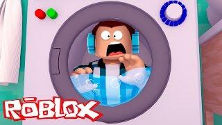 Roblox - PRESO NA LAVANDERIA !!