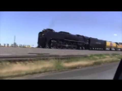 Union Pacific 844 Runs to Greeley CO July 12, 2016