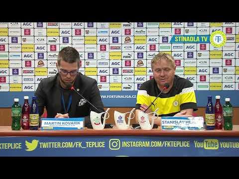 Tisková konference domácího trenéra po utkání Teplice - Jablonec (30.9.2018)