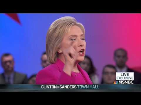 Clinton Repeatedly Grilled By Nevada Voter On Paid Speeches, Gay Marriage