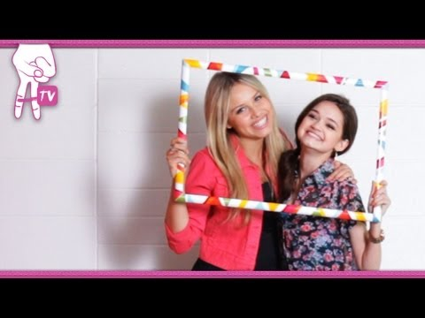 How to Make a Graduation Gift for your BFF w/ Ciara Bravo - 2 DIY For Ep 22