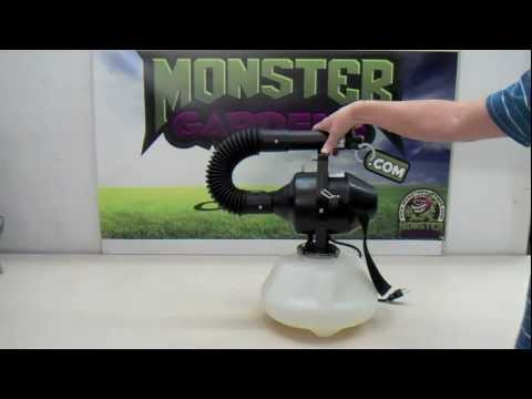 Atomist Spraying Atomizer Hydroponics Product Test Review Faster Garden Sprayer How To