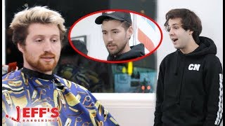Scotty Sire confronted about dissing friends | Jeff's Barbershop