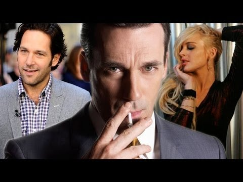 Mad Men Season 5 Return, Lindsay Lohan as Elizabeth Taylor & Paul Rudd on Parks & Rec