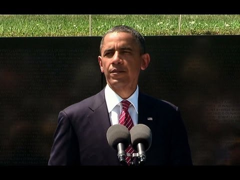 President Obama Commemorates the Vietnam War