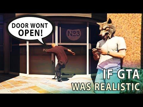 GTA V - If GTA was Realistic 1