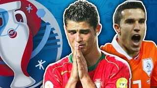 Top 10 Most Shocking Moments At The Euros!