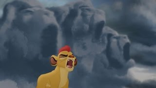 Kion's 'Dark' Roar of the Elders - Never Roar Again | Lion Guard HD Clip