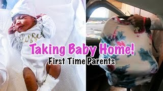 Bringing Baby Home! | First 48 Hours | First Time Parents