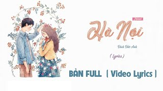 (#HNNU) Hanoi n U ♪ - Da Fame「Lyrics Video HD」