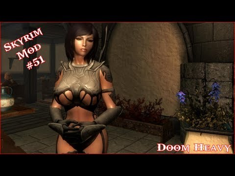 The Elder Scrolls V: Skyrim - Doom Heavy For CBBE V3 Mod