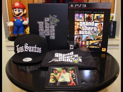 Grand Theft Auto 5 Collectors EdItion Unboxing And Review