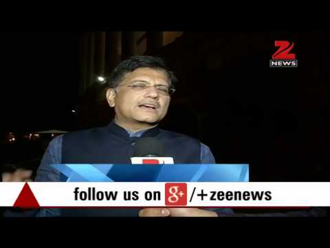 Passing of Coal Mines Bill 2015 a historic moment: Piyush Goyal