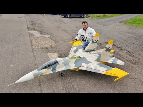 MAIDEN GIANT 1/6 SCALE RC CARF SUKHOI SU-27