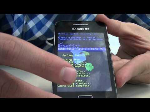 ACTUALIZAR. ROOTEAR SAMSUNG GALAXY ACE A ANDROID 4.2.2 JELLY BEAN (BIEN EXPLICADO 2013)
