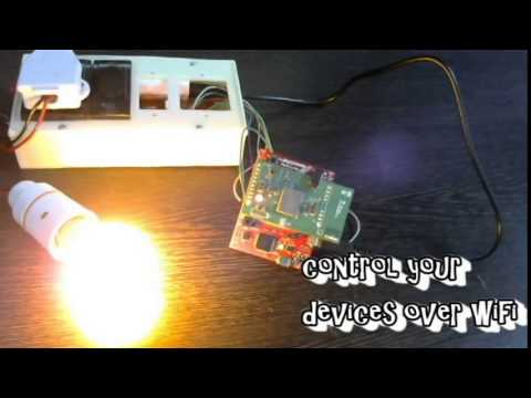 Home Automation Using WiFi -