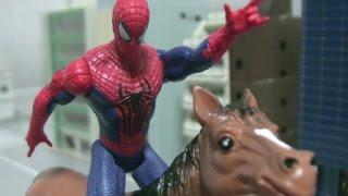 Spiderman Horse Toys 스파이더맨 말타기 장난감