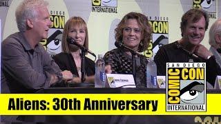 Aliens   2016 Comic Con Full Panel (James Cameron, Sigourney Weaver, Bill Paxton)