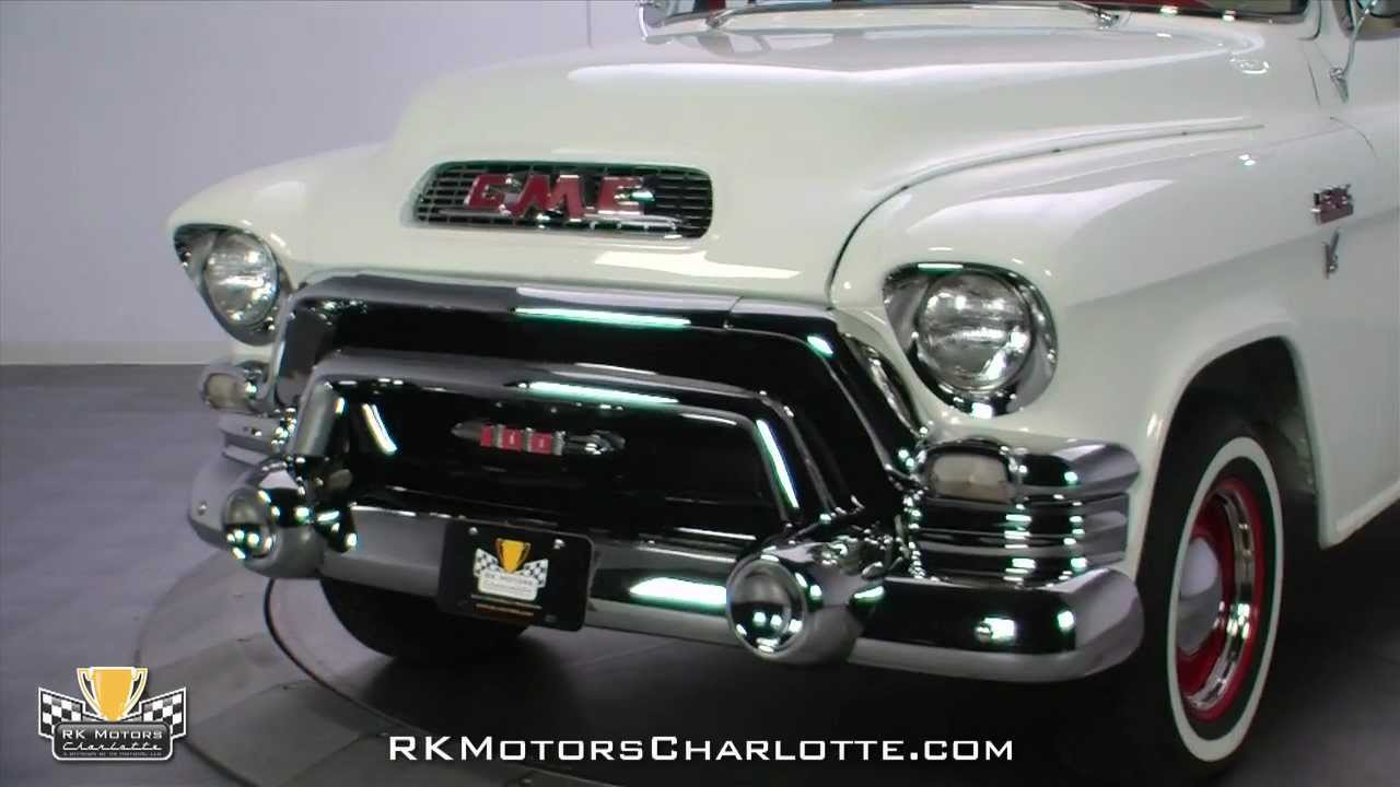 Gmc Truck For Sale >> 132557 / 1955 GMC 100 Suburban Carrier - YouTube