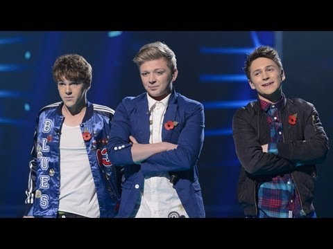 District3 sing Taio Cruz's Dynamite - Live Week 5 - The X Factor UK 2012