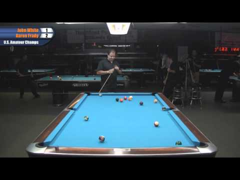 John White vs Aaron Frady at the 2011 US Amateur Championship