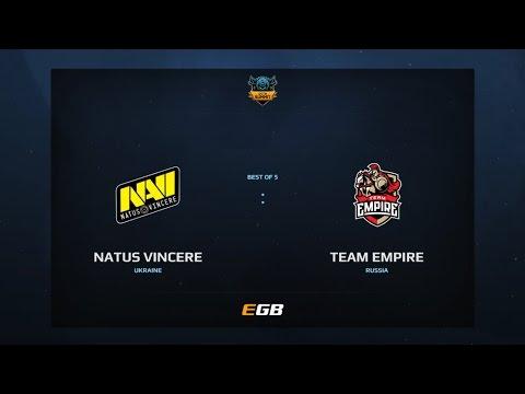 Natus Vincere vs Team Empire, Game 1, Dota Summit 7, EU Qualifier