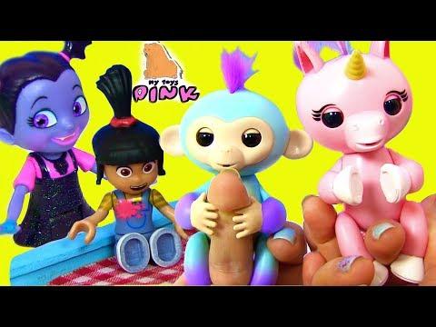 #FINGERLINGS UNICORN! В ПОИСКАХ ЕДИНОРОГА! Мультик. Видео для Детей | My Toys Pink