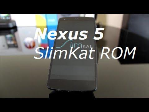 Nexus 5 SlimKat ROM