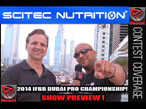 2014 IFBB Dubai Pro Championships Preview With Chris Aceto & Johnny Styles!