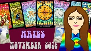 ARIES NOVEMBER 2016 Tarot psychic reading forecast predictions free