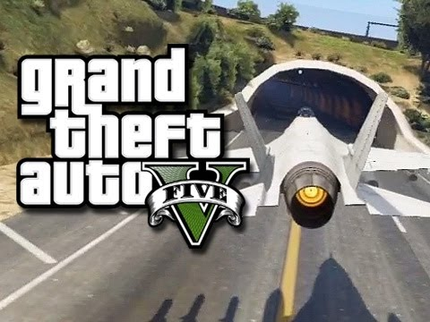 Gta 5 Online Stunts! - Flying Jets Through Tunnels! #2 (gta V Fails And Funny Moments!) video