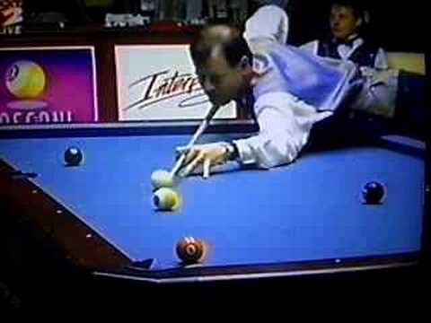 Alex Higgins & White Mosconi Cup - Final Set. Video