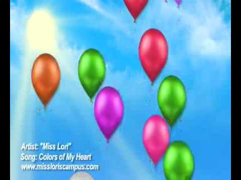 """Music Video; Miss Lori's CAMPUS """"Colors of my Heart"""" music video"""