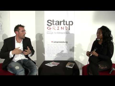 Brett Haggard (Hypertext Media) at Startup Grind Johannesburg