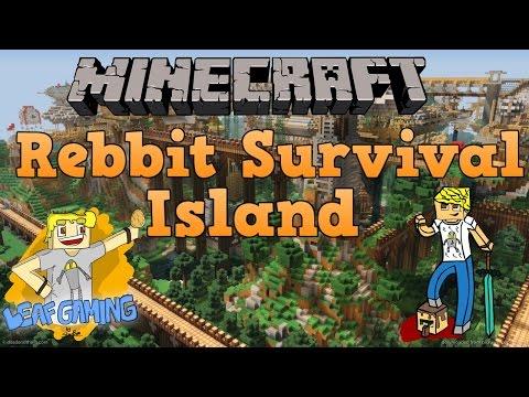 Minecraft: Rebbit Survival - Bölüm 1 - 80 Yıl Yaşlandık!